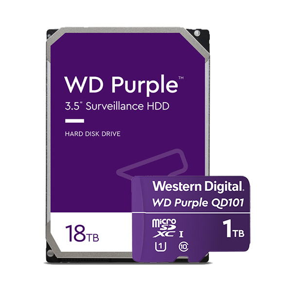 Para diversas cargas de trabajo de video: WD Purple
